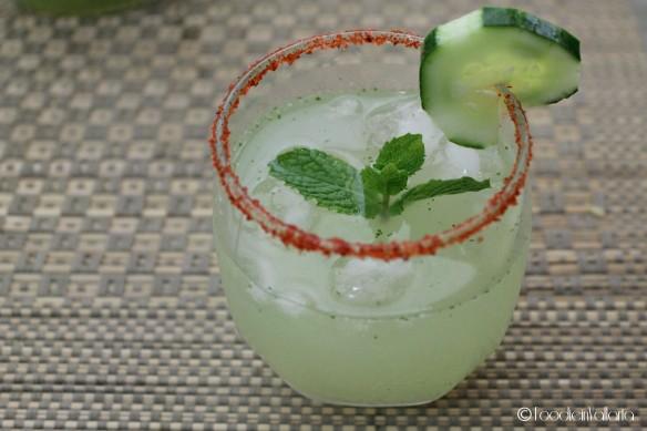 Agua Fresca de Pepino & yerbabuena - vodka